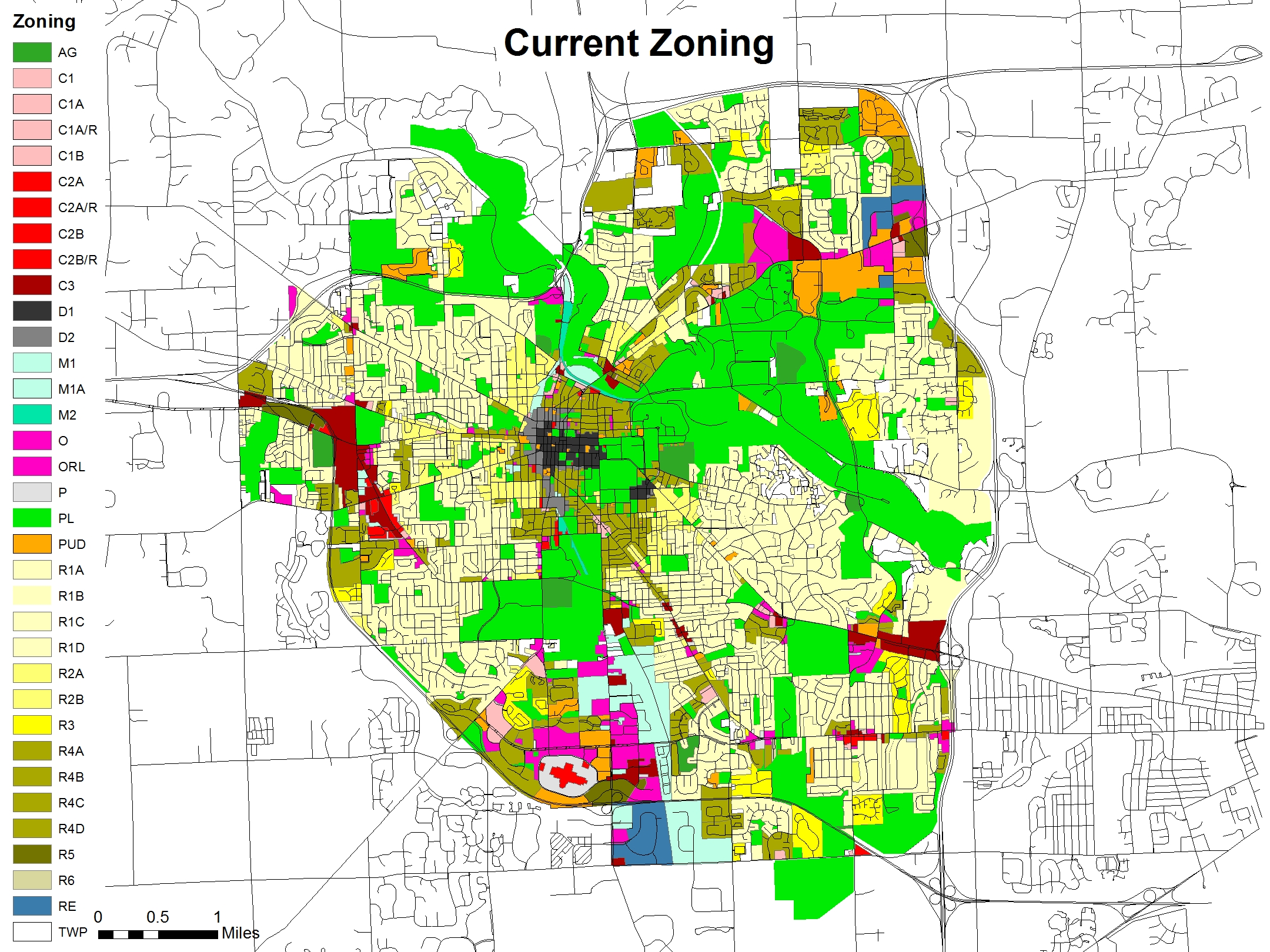 Mixed use zoning plan ann arbor mixed use party for Zone plan